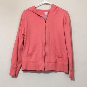 Columbia hooded sweatshirt jacket